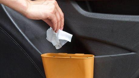 Odpadkový koš do auta