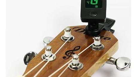 Kytarová ladička s klipem - 2 druhy