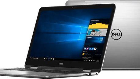 Dell Inspiron 17z (7779) Touch, šedá - TN-7779-N2-511S + Microsoft Office 365 pro domácnosti - 1 rok v ceně 2299 Kč + Sleva Office