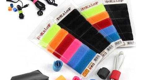 Stahovací pásky na kabely - 6ks