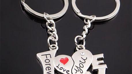 Partnerský přívěsek LOVE YOU