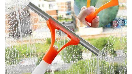 Stěrka na sklo s rozprašovačem 2v1 - různé barvy