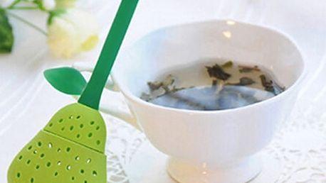 Silikonové sítko na čaj - Hruška - dodání do 2 dnů