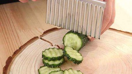Kráječ vlnkovitý na brambory a zeleninu