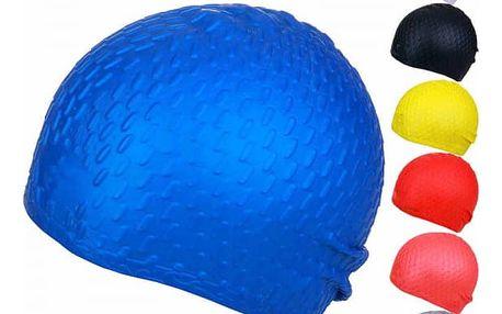 Silikonová plavecká čepice - více barev