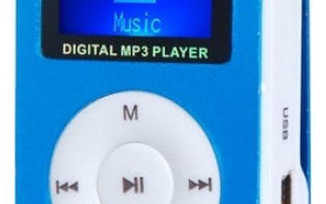 MP3 přehrávač s FM rádiem a slotem na microSD