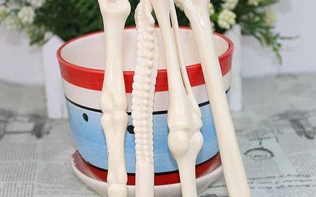 Pero ve tvaru lidských kostí - dodání do 2 dnů