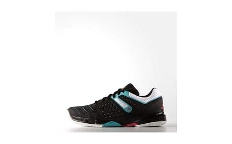 Dámská sálová obuv adidas court stabil 12 W 38,5 CBLACK/FTWWHT/SHOGRN