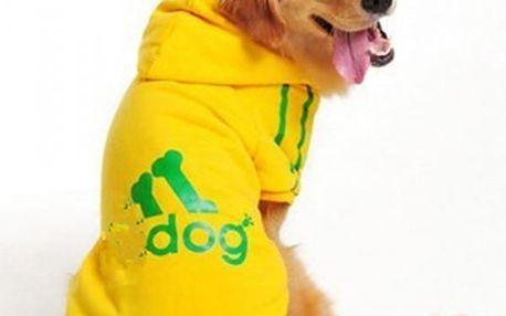 Sportovní mikina pro velkého psa - 4 barvy