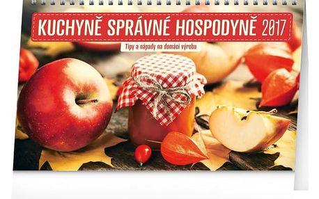 Stolní kalendář 2017 - Kuchyně správné hospodyně - dodání do 2 dnů