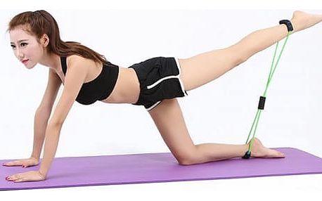 Posilovací fitness guma na cvičení