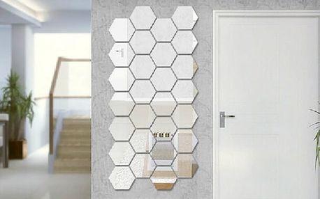 Sada šestihranných zrcadel - vlastní design