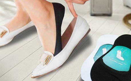 Funkční protiskluzové ponožky do balerínek