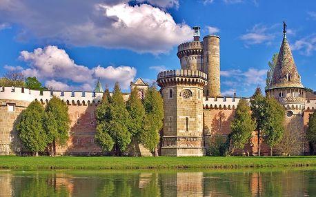 Výlet do Rakouska pro JEDNOHO k zámku, do čokoládovny a s plavbou po jezeře