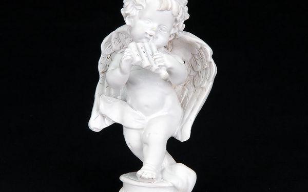Soška anděla s křídly