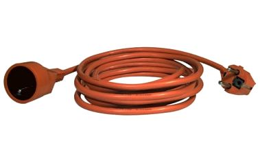 Kabel prodlužovací EMOS 1x zásuvka, 20m (NFL-001 (DG-YFB01) KF-FY4-01) oranžový