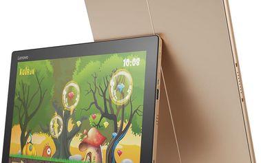 Lenovo IdeaPad Miix 700-12ISK, zlatá - 80QL008DCK + Microsoft Office 365 pro domácnosti - 1 rok v ceně 2299 Kč + Sleva Office
