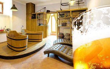 3–4denní lázeňský pobyt s popíjením piva v hotelu Soudek*** v Poděbradech pro 2