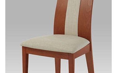 Jídelní židle BC-33905 TR3 - masiv buk/třešeň,