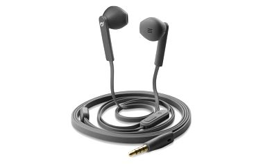CellularLine MANTIS sluchátka plochý kabel šedé