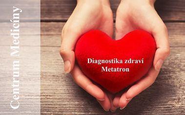 Nejvyspělejší diagnostika zdravotního stavu přístrojem Metatron + 3D skenování, konzultace