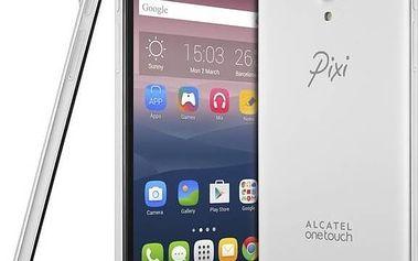 Mobilní telefon ALCATEL PIXI 4 (6) 8050D (8050D-2BALE11) stříbrný