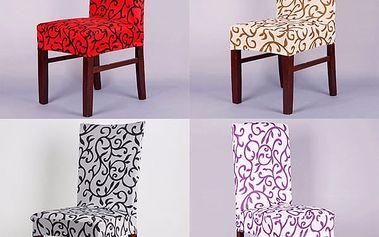 Potah na židli v elegantním designu