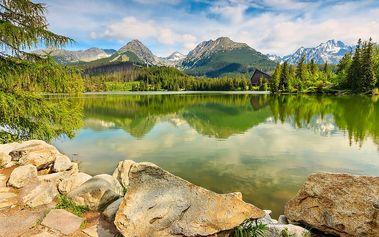 Vysoké Tatry, Tatranská Štrba na jaře nebo v létě: 3-8 dní pro dva s polopenzí a wellness