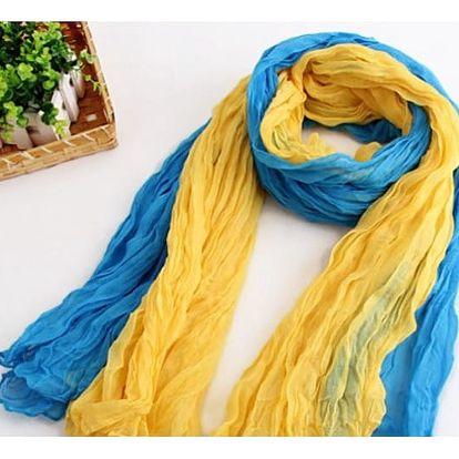 Velký barevný šátek Ariele!