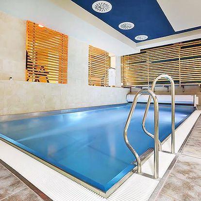 Dovolená v Tatrách se vstupem do wellness a polopenzí v 4* hotelu