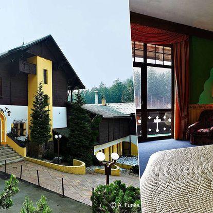 Hotel Orion s výhledem na Ještěd s polopenzí, dítě zdarma