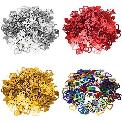 Konfety ve tvaru srdce - 500 kusů