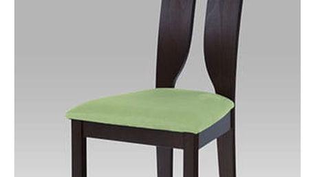 Jídelní židle BC-22407 BK - wenge/bez sedáku