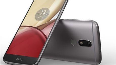 Mobilní telefon Lenovo Moto M Dual SIM (PA5D0076CZ) šedý