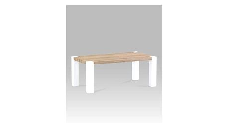 Konferenční stolek ACT-1002 SRE, san remo/vysoký lesk bílý