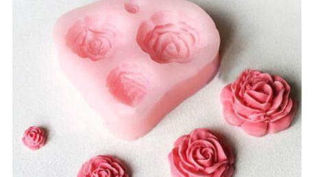 Silikonová forma na dekoraci dortů - růže - dodání do 2 dnů