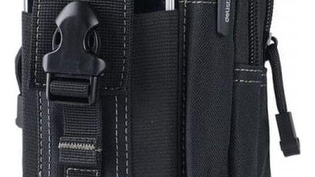 Taktická outdoor taška na smartphone - černá - dodání do 2 dnů