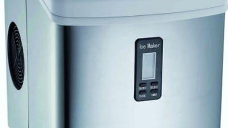 Výrobník ledu Guzzanti GZ 123 stříbrný