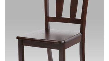 Jídelní židle SAVANA WAL - celodřevěná/ořech