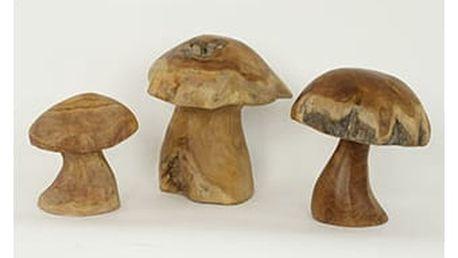 Teakové houby sada 3ks