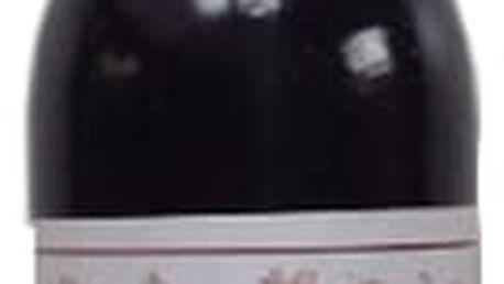 Dekorativní svíčka ve tvaru červeného vína která perfektně doplní Váš interiér.