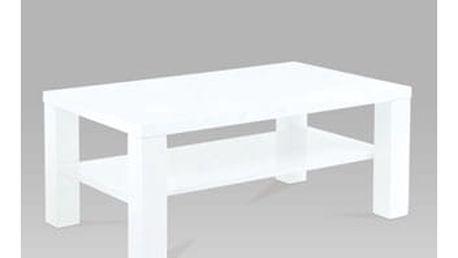 Konferenční stolek AHG-113 WT 110x60x42 cm - bílý