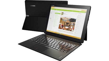 Lenovo IdeaPad Miix 700-12ISK, černá - 80QL008ECK + Microsoft Office 365 pro jednotlivce 1 rok v ceně 1599 Kč + Sleva Office