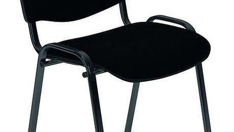 Kancelářská židle ISO béžovo-tmavě hnědá