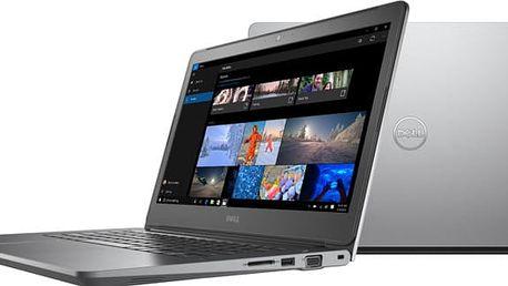 Dell Vostro 14 (5468), šedá - 5468-6755 + Microsoft Office 365 pro jednotlivce 1 rok v ceně 1599 Kč + Sleva Office
