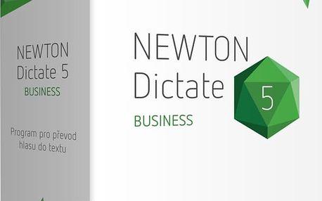NEWTON Dictate 5 Business, krabicová verze na 1 PC - NTND5BUSKCZ