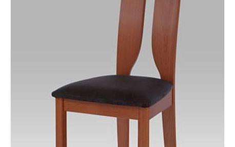 Jídelní židle BC-22407 TR3 - třešeň/bez sedáku
