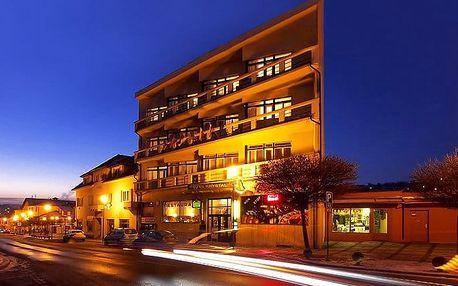4–6denní pobyt se snídaněmi a masáží pro 2 v hotelu Krystal*** v Luhačovicích