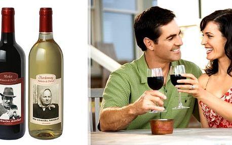 Španělské víno s vlastní fotografií a textem potěší vás i vaše blízké. Hodí se na všechny příležitosti a originalitě se meze nekladou. Na výběr červené i bílé kvalitní španělské víno.