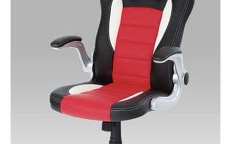 Kancelářská židle KA-N240 RED